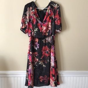 Silk Adrianna Papell dress size 8 US.